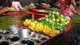 Тайланд, плавающий рынок